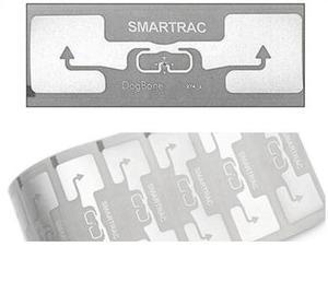 Image 1 - Smartrac rfid แบรนด์เดิมผู้ผลิต dogbone monza ชิป impinj r6 uhf rfid แท็กสติกเกอร์กาว inlay กับ epc ที่ไม่ซ้ำกัน TID