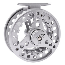 YUYU 3/4 5/6 7/8 9/10 WT Fly Fishing Reel Ice reel CNC Machine Cut Large Arbor Die Casting Aluminum Fly Reel Drag adjustable angler dream 3 5wt fly fishing combo 24sk carbon fiber fly rod and 3 4 5 6wt fly reel floating fishing line backing leader