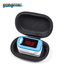 Fingertip Pulse Oximeter with Blood Oxygen Saturation Monitor