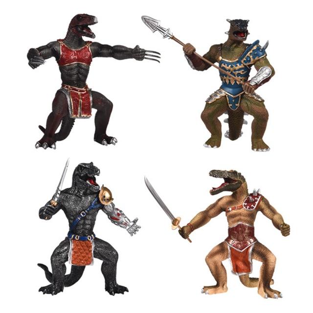 Mito do Dinossauro Modelo Guerreiro Brinquedo Modelo de Simulação Brinquedo Requintado Sólida Magia Exército Orc Entusiasta Dinossauro Dragão Guerreiro Dragão