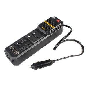 200W Auto Omvormer Converter DC 12 V Naar AC 220V Adapter Auto Inverter Auto Styling & Autolader Car Accessories