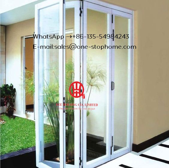 Australian standards Home Economic aluminium balcony folding glass door prices,Bi Folding Aluminum Alloy Sheet Patio Door
