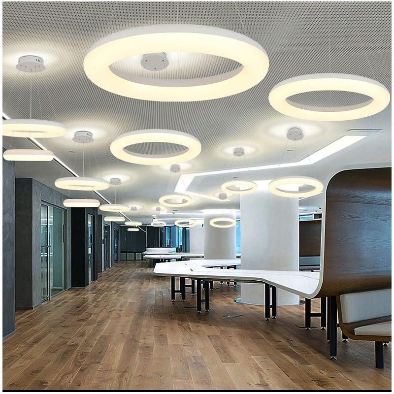 Led Foyer Lighting : Modern led pendant lights for foyer single ring light