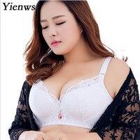 f13adbc2d Yienws Lace Sexy Bras For Women Bralette Lingerie Plus Size Bra Push Up  White Black Large