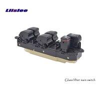 Liislee for toyota land cruiser prado 블랙 버튼 윈도우 레귤레이터 윈도우 스위치 어셈블리 리프트 버튼 컨트롤 스위치