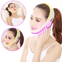 Portable Face Lifting Mask Bandage Slimming Belt V-Line Facial Care Double Chin Cheek Slimmer