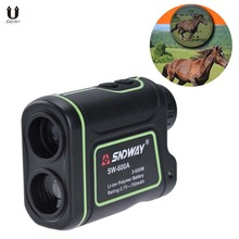 Golf Rangefinder Rechargeable Laser Rangefinder Laser Binoculars with Storage Bag and Lanyard, IP54 3-656 Yards 8X Magnification