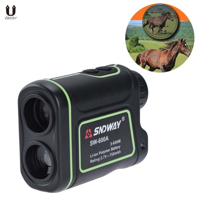 Golf Rangefinder Rechargeable Laser Binoculars With Storage Bag And Lanyard Ip54 3