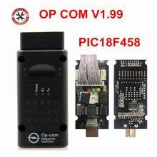 2018 Original de fábrica COMOP PIC18F458 Chip V1.59 V1.65 1.70 V1.78 V1.95 V1.99 OP-COM firmware Para Opel Frete Grátis
