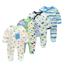Fetchmous 4 PCS/LOT newborn long sleeve winter cotton
