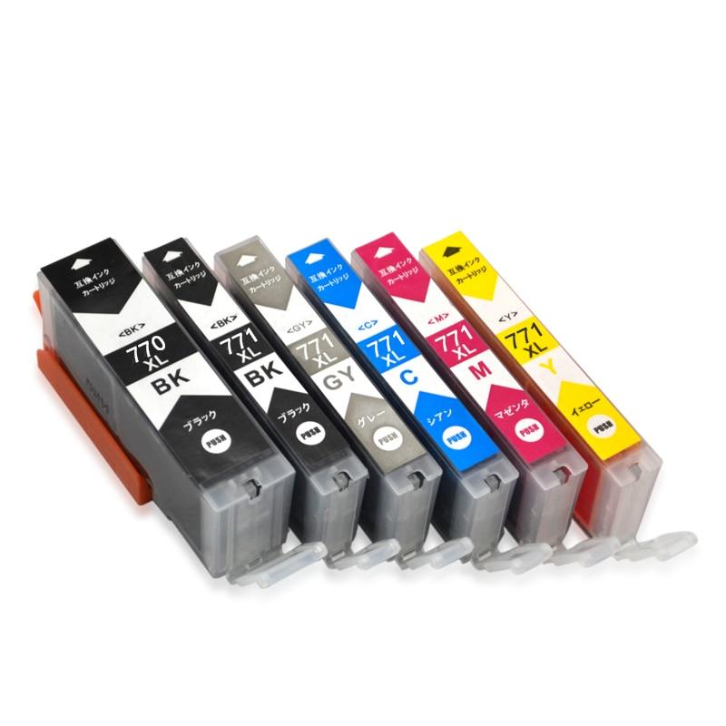 vilaxh PGI 770 CLI 771 770 771 Ink Cartridges for Canon PGI770 CLI771 PGI 770 PIXMA