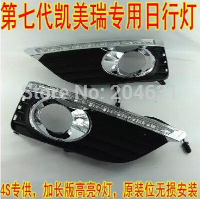 Top Quality Auto Car DRL Fog Lamp For Camry 2012 T Daytime Running Lights LED Daylight DRL