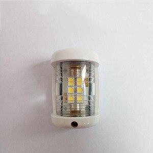 Image 3 - 12 V Marine Boot Jacht LED Navigatie Licht Wit Masthead Licht Boog Zeilen Signaal Lamp