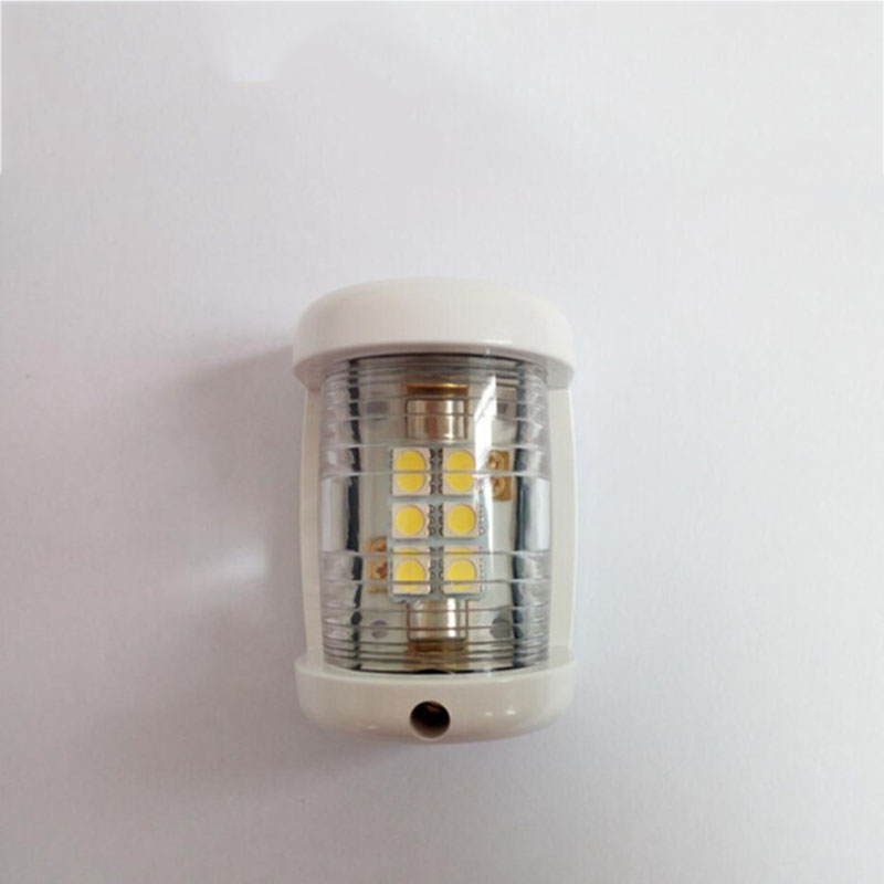 Image 3 - 12V Marine Boat Yacht LED Navigation Light White Masthead Light Bow Sailing Signal Lamp-in Marine Hardware from Automobiles & Motorcycles