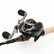 Taigek 19BB Metal Spool Brand Saltwater Fishing Baitcasting Reel 6.3:1 Left Right Handle Surf Bait Casting Reel Fishing Reel