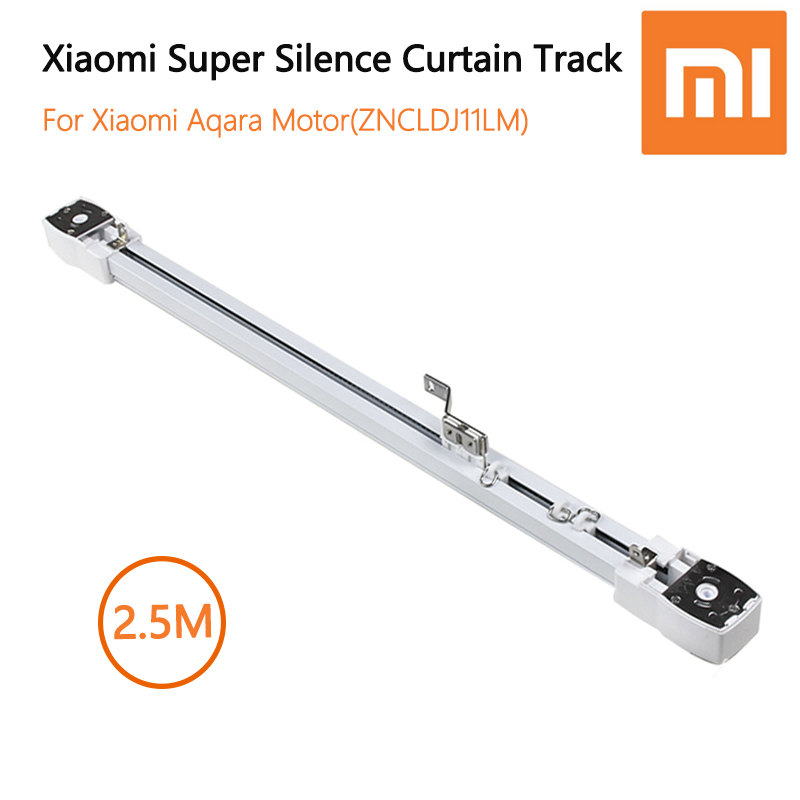 Original Millet Ultra-quiet Electric Curtain Track For Millet Aqara / Dooya KT82 / DT82 Motor, Automatic Curtain Rail Smart Home