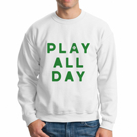 Babaseal Play All Day Green Eye Hood Japanese Anime Hoodie Gray Sweatshirt Men 3d Pug Weed Hoodie Male Sweatshirt
