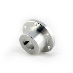 UniHobby 8mm/10mm/12mm/14mm/16mm Motor acoplamiento del eje rueda Mecanum del eje del Motor centro clave Omni eje de la rueda Hubs (4 unids/pack)