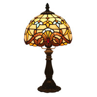 LukLoy European Bedroom Bedside Retro Table Lamp Nostalgic Creative Restaurant Cafe Bar Warm Light Decorative Table Lamp