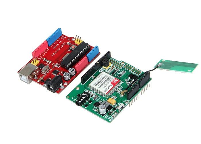 GPRS/GSM Simcom SIM900 Module V2.0 Shield GPS Development Boardboard +Iduino UNO Free Shipping