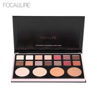 FOCALLURE 18 Colors Matte Eyeshadow Palette Make Up Highlighters Brighten Face Cosmetics Earth Make Up Palette