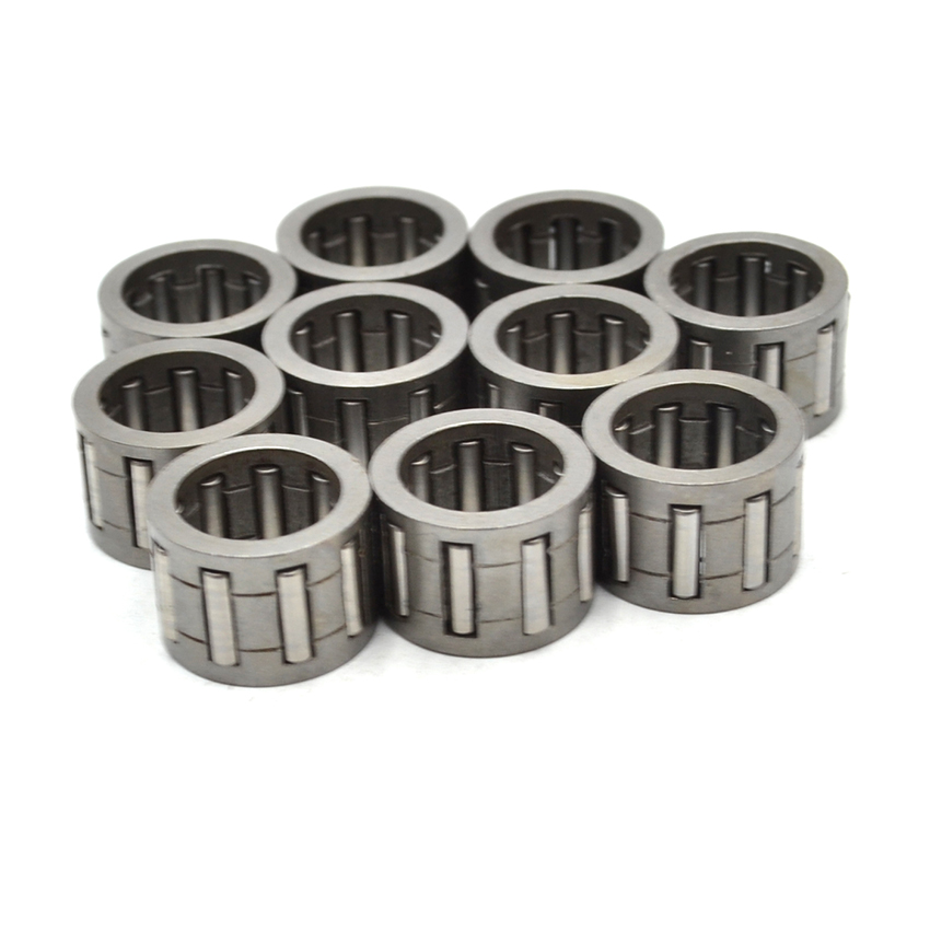 10PCS 10X14X10mm Piston Needle Bearing Kit For  HUSQVARNA 36 41 136 137 141 142 Chainsaw