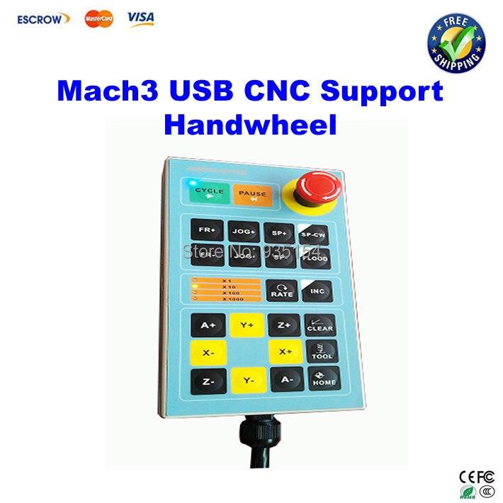 Free ship! Mach3 USB Handwheel for Engraving Machine Controller CNC Engraver Handle лазерный уровень bosch pll 1p [0603663320]