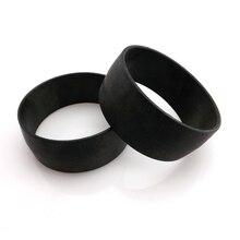 Venta al por mayor, 25 uds. De accesorios de brazalete de plástico para brazalete de hilo DIY, productos semielaborados para brazalete de plástico trenzado de 30mm de ancho