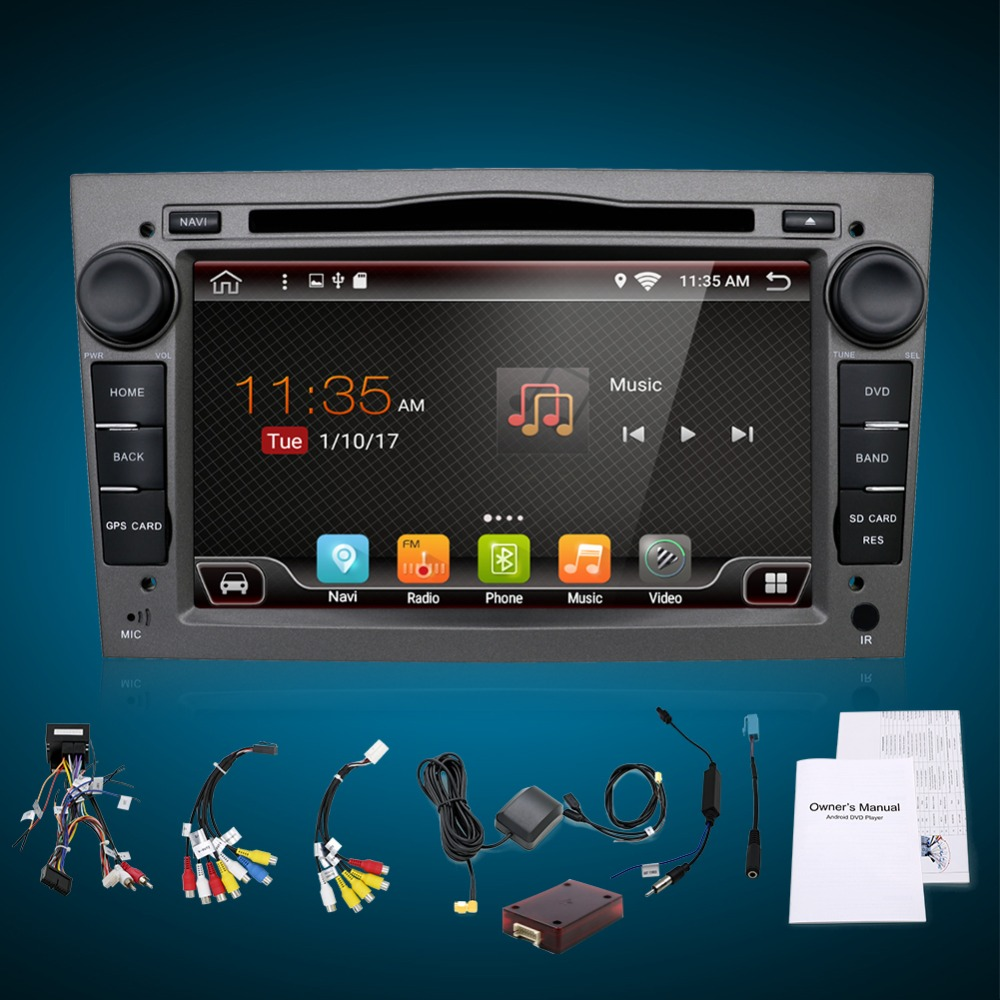 4G Android 7.1/Android 7.1 2 DIN DVD GPS for Vauxhall Opel Astra H G J Vectra Antara Zafira Corsa Multimedia screen radio stereo 4 gb ram android 8 0 car dvd gps radio stereo for opel vauxhall astra h g j vectra antara zafira corsa