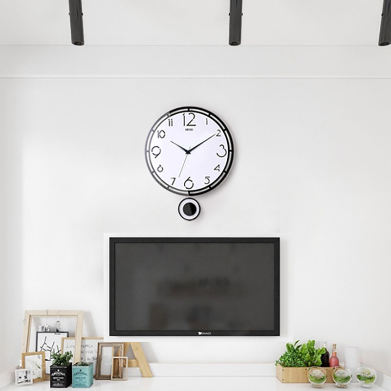 Diamond 3D Wall Clock Sticker for Home Living Room TV Background Decor #2