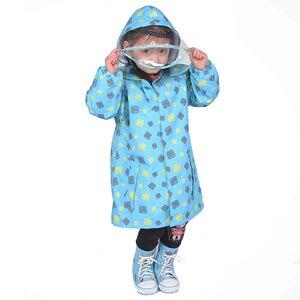 Image 5 - FreeSmily סגנון מעיל גשם לילדים ילדים סטודנטים בלתי חדיר עמיד למים בנים בנות ילד גשם מעיל שכמיות מעילים
