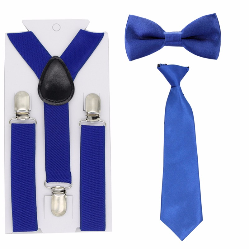Lito Boy/'s Dressy Clip-On Tie Variety of Colors in Toddler Size thru Age 14