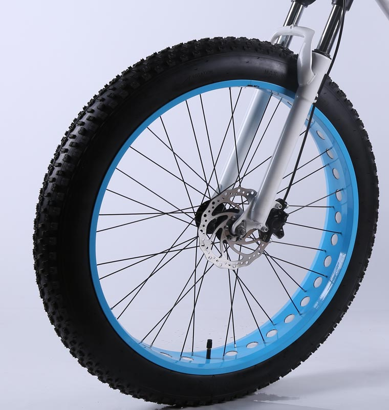 4.0 / 4.8 Size Fat Tire 26 Inches Wheel, Front Wheel, with Outer Tire and Inner Tube, without Front Fork