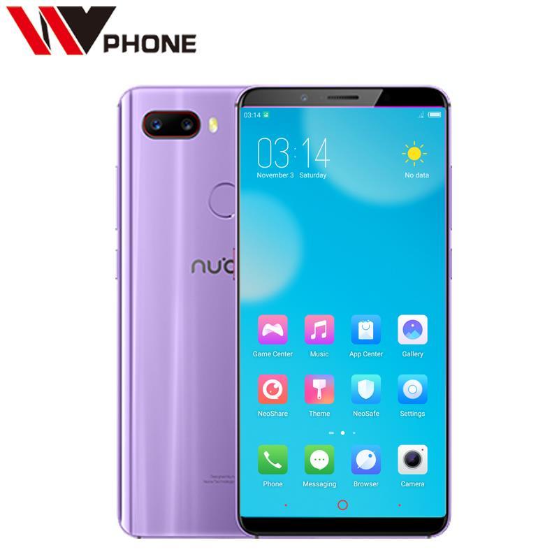 Nubia Z18 Mini 6 GB 64 GB Snapdragon 660 téléphone portable Octa Core 5.7