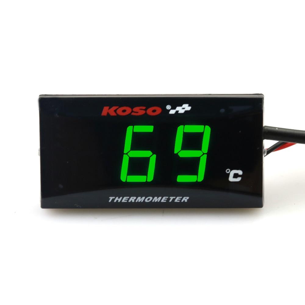 Motorcycle Instruments Thermometer Water Temp Temperature Digital Display Gauge Meter For XMAX 300 NMAX honda CB500X Cb650F ER6N