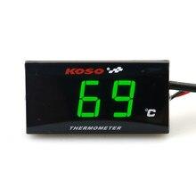 Instrumentos da motocicleta termômetro temperatura temperatura temperatura display digital medidor para xmax 300 nmax honda cb500x cb650f er6n
