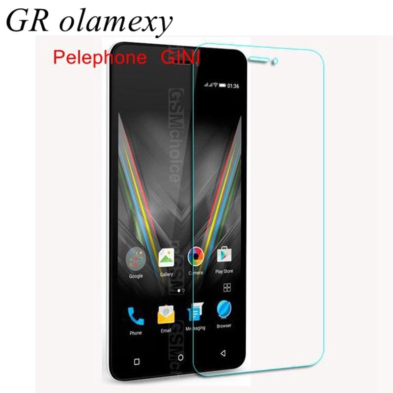 Tempered Glass / Nano Screen Protectors for Pelephone GINI W5 S4 N6 E6 E6 Plus E6+ Membrane Anti Explosion proof Phone Guards