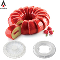 1Set Silicone Round REDTAIL Cake Mold Pan For Baking Chocolate Sponge Cakes Mousse Dessert Cake Decorating Tools Molds