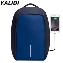 Kalidi модные женские туфли Рюкзак Anti-Theft Водонепроницаемый ноутбук рюкзак Внешний USB зарядки сумка женский рюкзак 14 15.6 дюймов