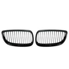 2 Stuks Auto Gloss Black Nieren Voor Bmw E92 E93 3 Serie Coupe 06 09