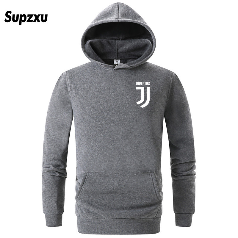 9f5c207fd 2019 Brand New Men Hoodies Pullover Hip Hop Fleece Fashion Juventus Print  Sportswear Mens Tracksuit Sweatshirt