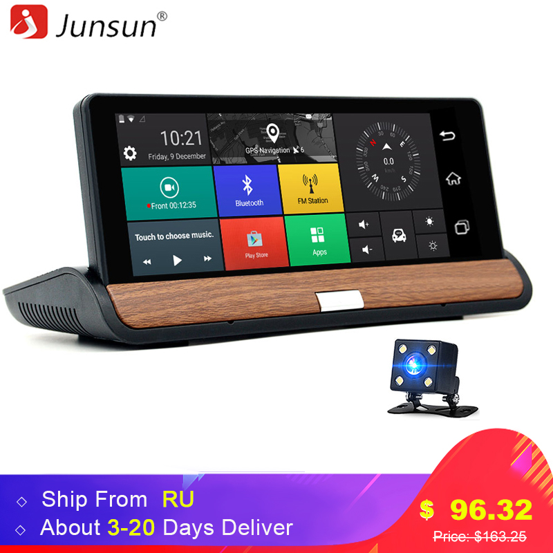 7 Android Full HD1080P Car DVR GPS Navigation Rear View Radar Detector Vehicle Gps Car Dvrs