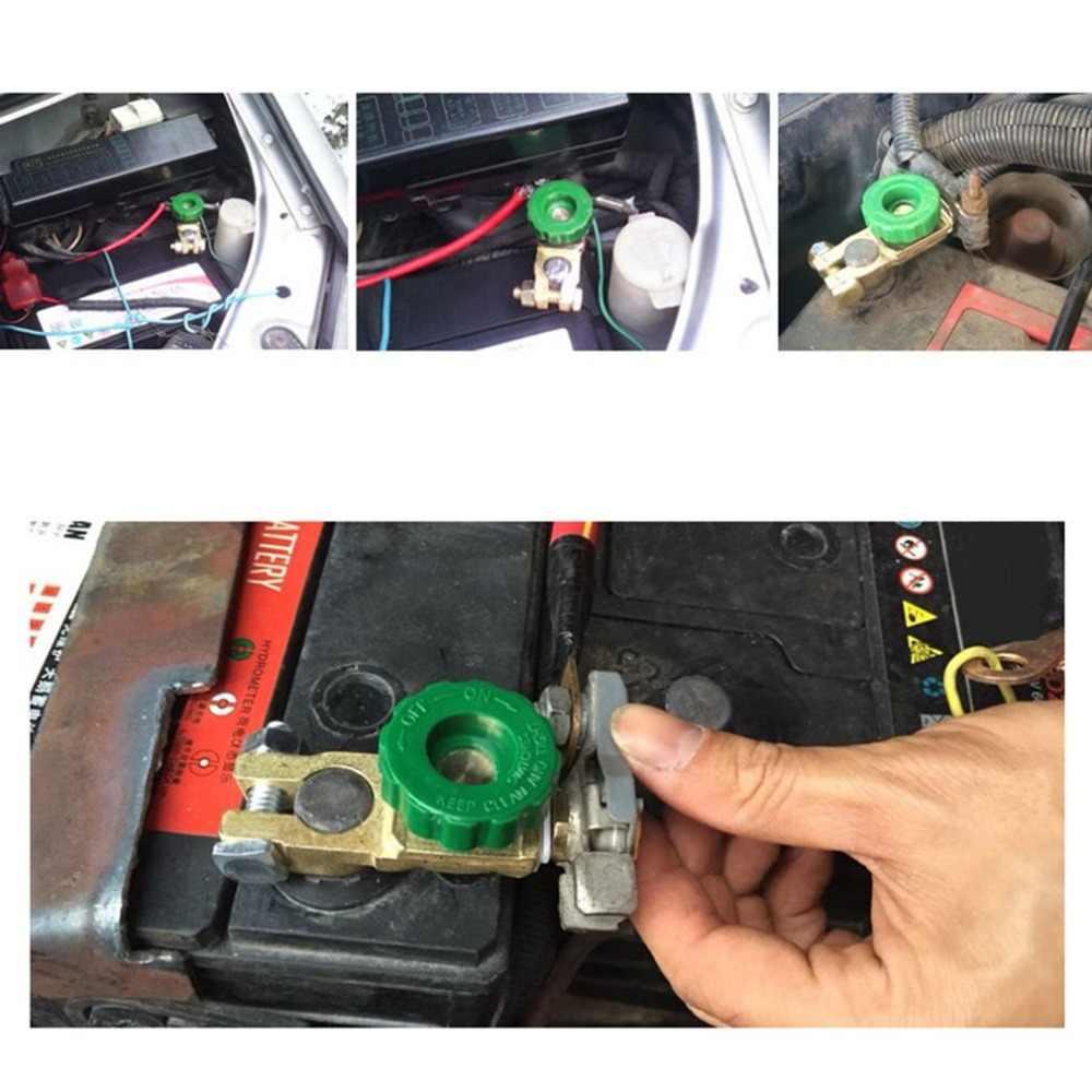 Nouveau cuivre batterie Terminal lien interrupteur coupure rapide déconnexion isolateur interrupteur Auto voiture accessoires livraison directe à chaud