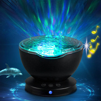 Hot LED Night Light Ocean Wave Projector Starry Sky Cosmos Star Lamp Luminaria Aurora Novelty Baby Night Light Valentines Gift
