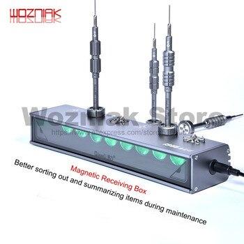 Qianli iSee Schermo LCD Polvere di Impronte Digitali Graffio di Rilevamento Lampada di Riparazione del telefono Mobile Della Polvere di Luce per Lavori di Manutenzione LED