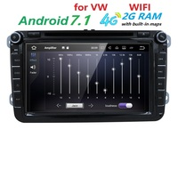 3G Monitor 2 Din Android 7 1 Car Stereo Radio 8 Inch HD 1024 600 Screen