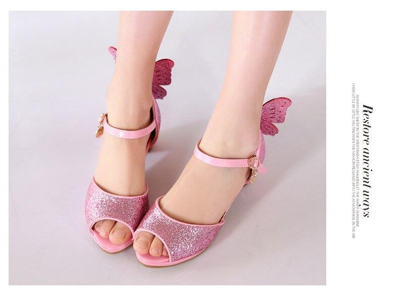 Estudante Bebê Criança Crianças sapatos de Dança Sapatos de Desempenho 02