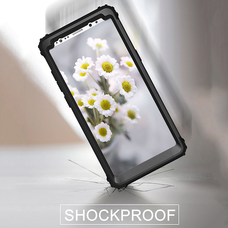 3 in 1 TPU & PC Hard Phone <font><b>Cases</b></font> For <font><b>Samsung</b></font> Galaxy S8 S8 Plus <font><b>Note</b></font> <font><b>8</b></font> Cover Fashion <font><b>360</b></font> Full Protect Shockproof Armor <font><b>Case</b></font> Shell image