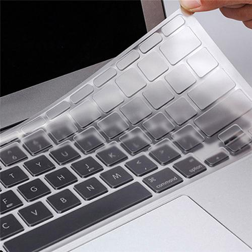 1pc Multi Language EU/UK/US Silicone Keyboard Cover  Transparent Clear Protector for MacBook Air Pro Retina Mac 13 15 17inch