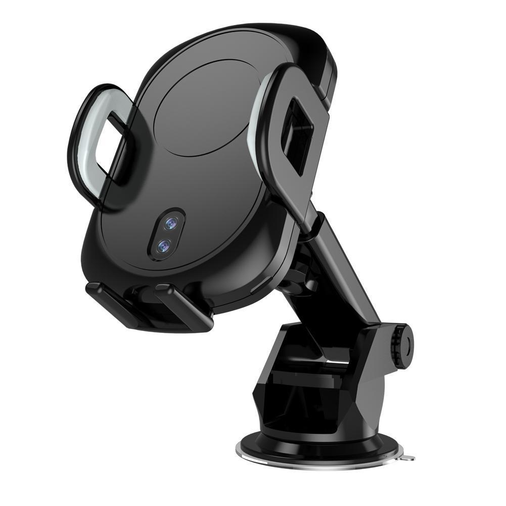 2 en 1 Téléphone Portable Gravité support socle voiture et Automatique Chargeur De Charge Sans Fil Pour 360 Rotation Téléphones Magnétique support pour voiture